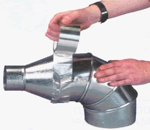 Cinta Adhesiva de Aluminio la Cinta Adhesiva en Foil de